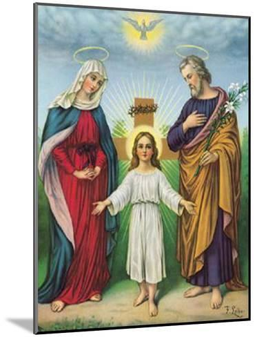 Jesus Maria Joseph--Mounted Art Print