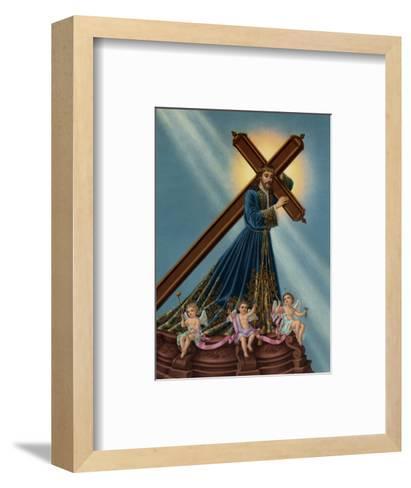 Jesus Nazarenus--Framed Art Print