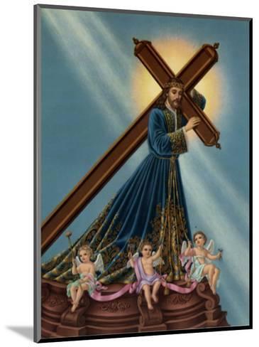 Jesus Nazarenus--Mounted Art Print