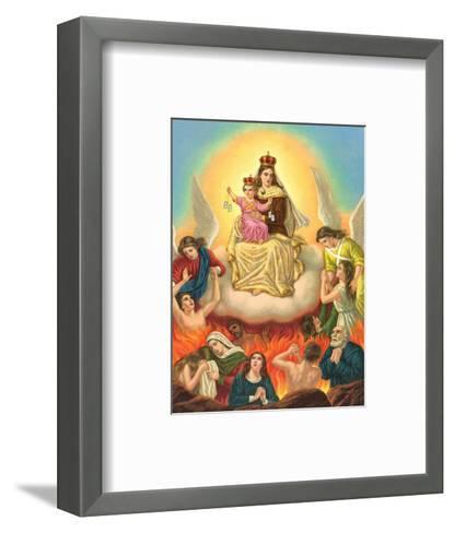 Madonna Vom Carmel--Framed Art Print