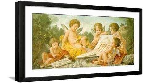 Angels Drawing-Francesco Bartolozzi-Framed Art Print