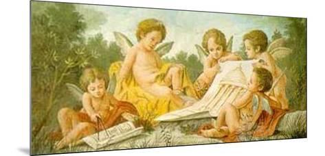 Angels Drawing-Francesco Bartolozzi-Mounted Art Print