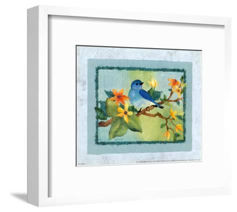 Bluebird-Linn Done-Framed Art Print