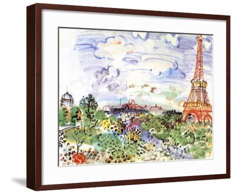 La Tour Eiffel, c.1935-Raoul Dufy-Framed Art Print