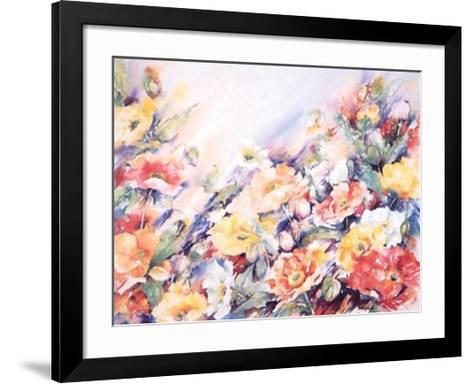 Papaver Nudicau-Hanneke Floor-Framed Art Print