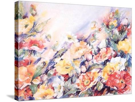Papaver Nudicau-Hanneke Floor-Stretched Canvas Print