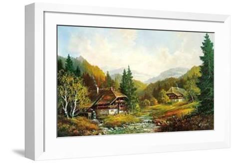 Schwarzwaldhaus-Helmut Glassl-Framed Art Print