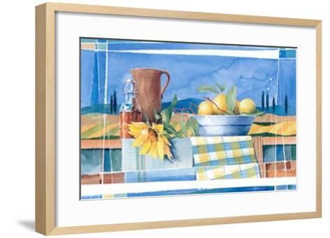 Sudliches Ambiente VII-Franz Heigl-Framed Art Print