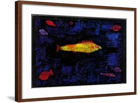 Der Goldene Fisch-Paul Klee-Framed Art Print