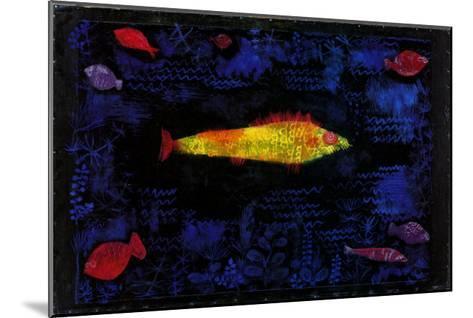 Der Goldene Fisch-Paul Klee-Mounted Art Print