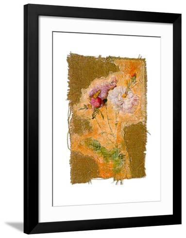 Abstract Roses I-Michel Lafontaine-Framed Art Print