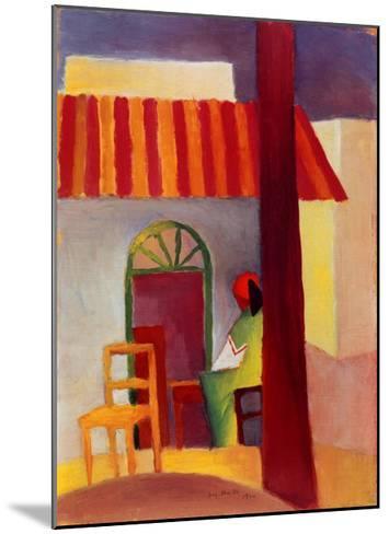 Turkisches Cafe I-Auguste Macke-Mounted Art Print