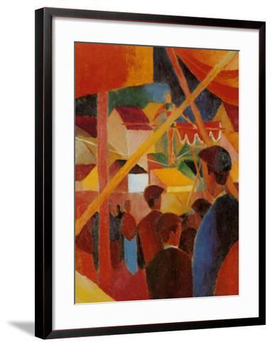 Tightrope Walker-Auguste Macke-Framed Art Print