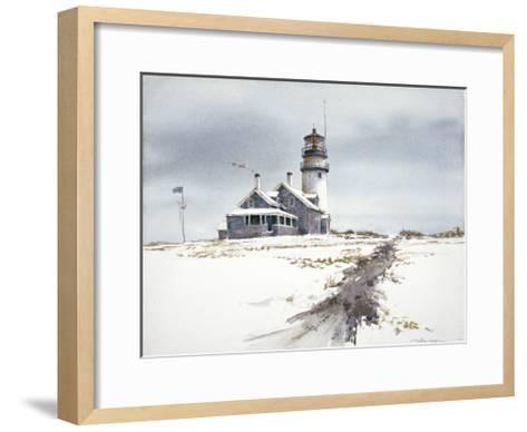 Cape Cod Lighthouse-William Mangum-Framed Art Print