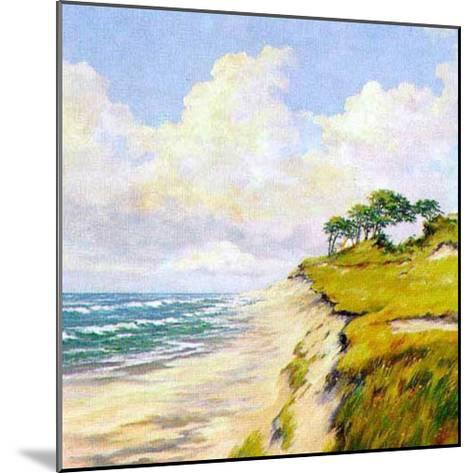 Coastal Lanscape-W^ Neck-Mounted Art Print