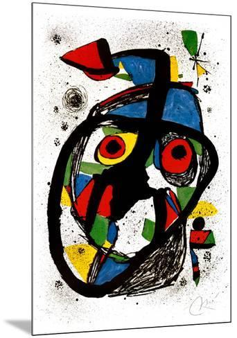 Carota, c.1978-Joan Mir?-Mounted Art Print