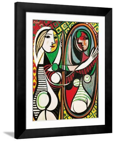 Girl Before A Mirror C 1932 Pablo Picasso Framed Art Print