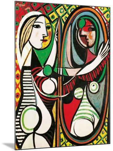 Girl Before a Mirror, c.1932-Pablo Picasso-Mounted Art Print