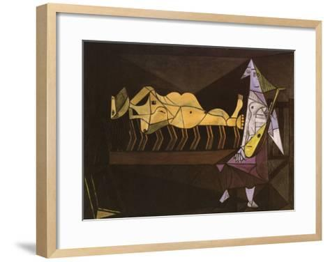 Aubade, c.1942-Pablo Picasso-Framed Art Print