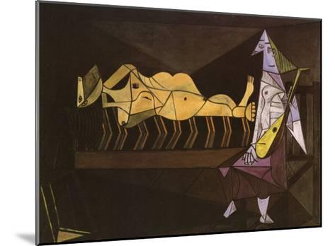 Aubade, c.1942-Pablo Picasso-Mounted Art Print