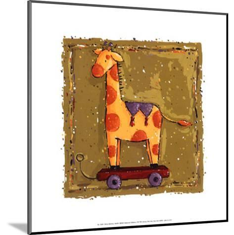 Giraffe-Wilma Sanchez-Mounted Art Print