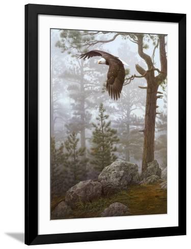 Shrouded Forest (detail)-Daniel Smith-Framed Art Print