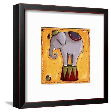 Elephant-Wilma Sanchez-Framed Art Print