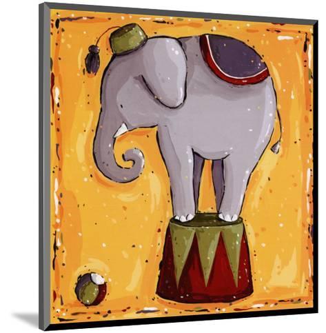 Elephant-Wilma Sanchez-Mounted Art Print