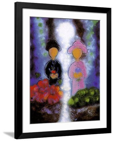 Sur le Meme Chemin-Bernard Seguin-Poirier-Framed Art Print