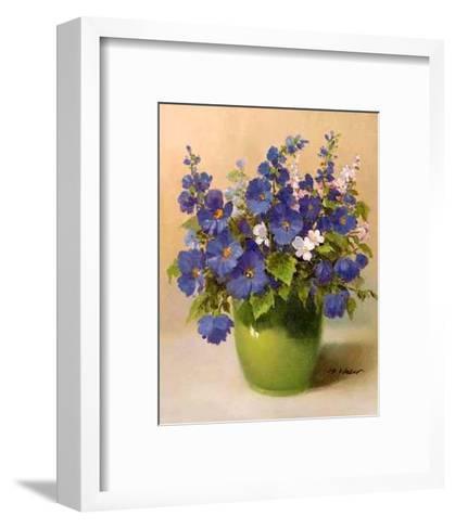 Blumenserie-Max Weber-Framed Art Print