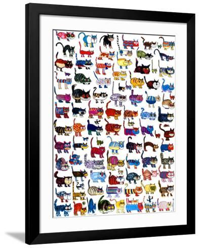 100 Cats and a Mouse-Vittorio-Framed Art Print