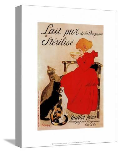 Lait Sterilise-Th?ophile Alexandre Steinlen-Stretched Canvas Print