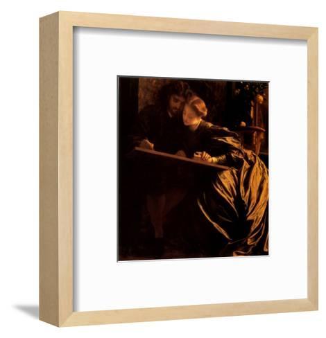 The Painter's Honeymoon, 1864-Frederick Leighton-Framed Art Print