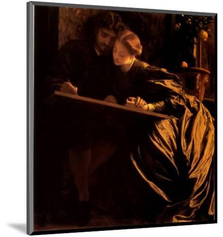 The Painter's Honeymoon, 1864-Frederick Leighton-Mounted Art Print