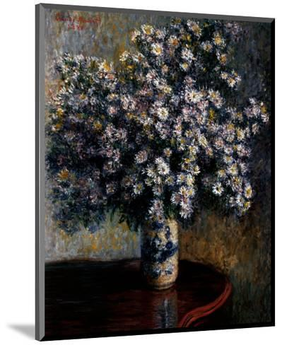 Asters, 1880-Claude Monet-Mounted Art Print