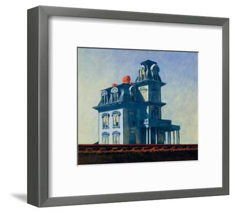 House by the Railroad, 1925-Edward Hopper-Framed Art Print