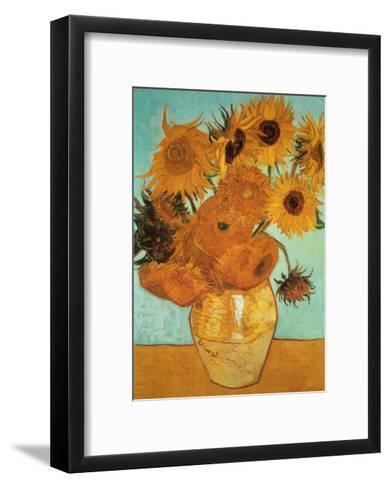 Sunflowers, c.1888-Vincent van Gogh-Framed Art Print