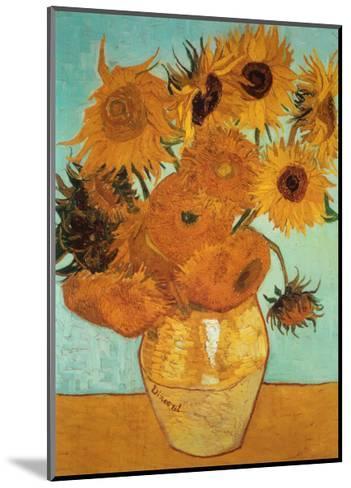 Sunflowers, c.1888-Vincent van Gogh-Mounted Art Print