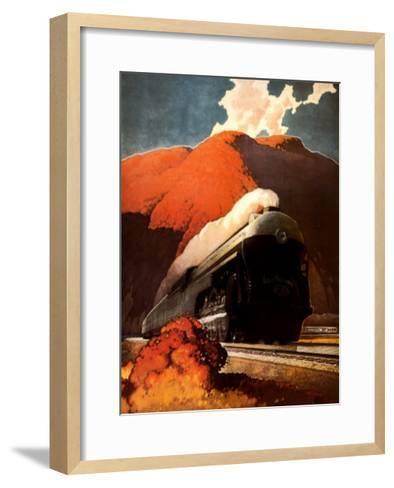 Empire State Express-Leslie Ragan-Framed Art Print