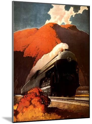 Empire State Express-Leslie Ragan-Mounted Art Print