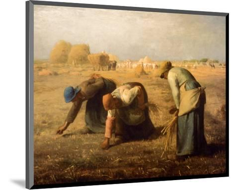The Gleaners-Jean-Fran?ois Millet-Mounted Art Print