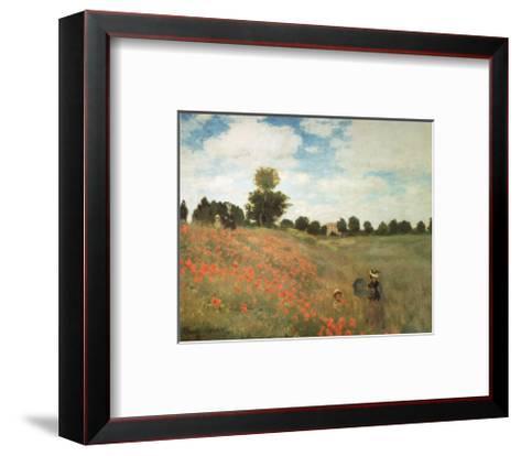 Les Coquelicots-Claude Monet-Framed Art Print