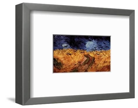 Wheatfield with Crows, c.1890-Vincent van Gogh-Framed Art Print