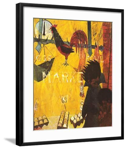 Poultry Market-Walter Williams-Framed Art Print