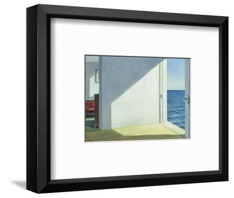 Rooms by the Sea, 1951-Edward Hopper-Framed Art Print