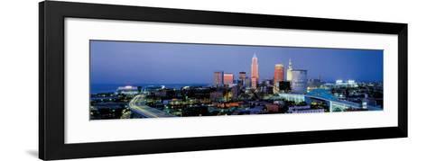 Cleveland, Ohio-James Blakeway-Framed Art Print