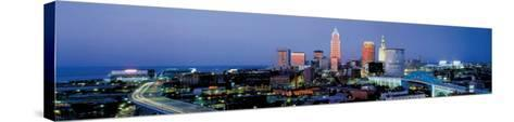 Cleveland, Ohio-James Blakeway-Stretched Canvas Print
