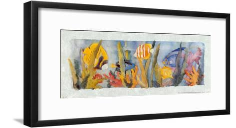 Splashin'-Linn Done-Framed Art Print