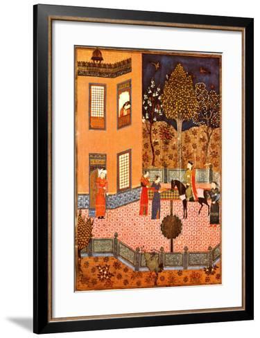 Shahnameh Baysunqur--Framed Art Print