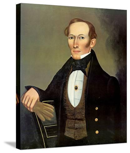 Mr. Pearce, c.1835-Erastus Salisbury Field-Stretched Canvas Print